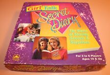 Vintage 1991 Golden GIRL TALK SECRET DIARY Complete Exc