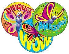 Beautiful Butterflies (Vanilla) Scratch n Sniff Smelly Reward Teacher Stickers