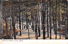 Massachusetts postcard Lunenburg, Entrance to Whalom Park