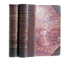 The Histories by William Shakespeare Antique 2 Vol. Set 1881 Victorian Leather