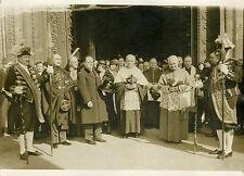 """""""CARDINAL VERDIER Saint Patrice Paris 1932"""" Photo originale G. DEVRED (Agce ROL)"""