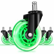 Office Chair Caster Wheels Replacement Rubber Chair Casters For Hardwood Floo