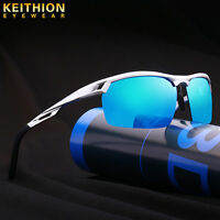 2019 Aluminium Men/'s HD Polarized Sunglasses Driving Fishing Mirrored Eyewear