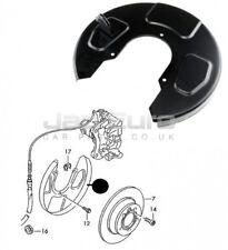 Para Ford Galaxy Seat Alhambra Vw Sharan Trasero Izquierdo Freno Disco Dust Tapa