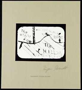 Kunst in der DDR, 1980. Fotografie Jürgen STRANDT (1939-2003 D), handsigniert
