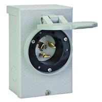 Reliance Controls Corporation PB50 50 Amp NEMA 3R Power Inlet Box, 50-Amp for Ge