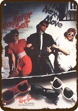 1985 RAYBAN WAYFARER SUNGLASSES Vintage-Look REPLICA METAL SIGN -NOT SUNGLASSES!