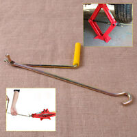 Golden Steel Car Tire Wheel Lug Wrench Scissor Jack Crank Speed Handle Lift Tool