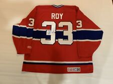 PATRICK ROY SIGNED 1993 STANLEY CUP JERSEY MONTREAL CANADIENS HOF JSA COA