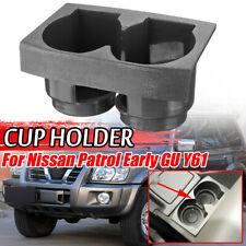 Car Front Centre Console Bottle Cup Holder Storage Gap For Nissan Patrol GU Y61