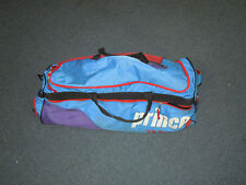 PRINCE TENNIS BAG-6 PACK-BLUE/RED-OLD SCHOOL-1990's-1980's