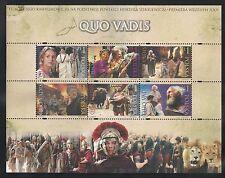 "Poland #3603 (A1213) VF MNH S/S - 2001 1z Premere Of Movie ""Quo Vadis"""