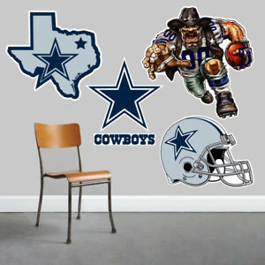 Dallas Cowboys Wall Art 4 Piece Set Large Size------New in Box------