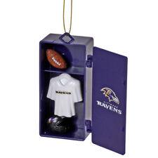 Baltimore Ravens Team Locker Christmas Ornament Official NFL  2/2