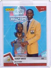 2018 Panini Instant #11 Randy Moss Hall of Fame Football Card - Only 87 made!