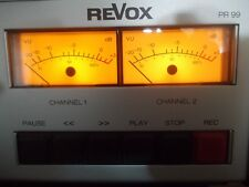 REVOX B77-PR99 VU METER, REPLACEMENT LAMPS/BULBS x 4 WITH FITTING INSTRUCTIONS