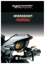 Benelli Tornado 903 Limited Edition Motorcycle Workshop Manual (0435)