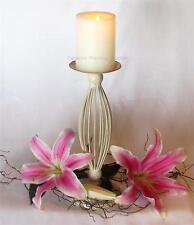 Candelabra - Cream Iron Estate Candle Holder by Amalfi - Small