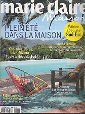MARIE CLAIRE MAISON N° 462--PLEIN ETE MAISON/VIVRE A LA PLAGE/IBIZA-CORSE-