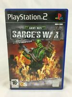 Army Men : Sarge's War - With Manual - PS2 - Playstation 2 - PAL