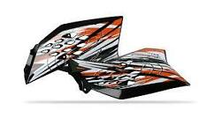 2 Ouies de radiateur POLISPORT noir KTM   SX  65     2009-2015