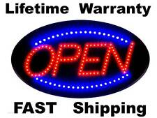 OPEN sign LED - new style light -- Lifetime Warranty --- FAST Shipping from Ohio