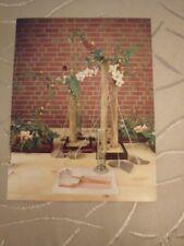 Postkarte Karte AK - Asiatisches Flair - Blumen Deko Natur Pflanzen Botanik NEU