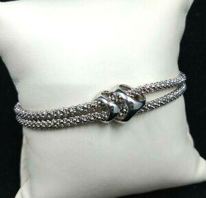 Di Modolo sterling silver double bracelet