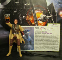1996 Kenner Star Wars SOTE Princess Leia (Boushh) Loose & Complete Figure