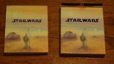 Star Wars: The Complete Saga (Blu-ray Disc, 2011, 9-Disc Set) Autographed 3X