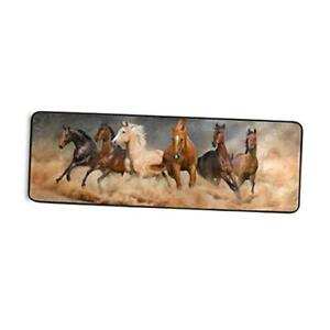 Rug Non-Slip Large Rugs Soft Comfort Area Rug Home Decorative Running Horse