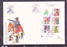 Macau 1990 Asian Games SS on FDC