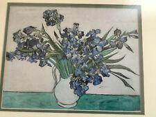 "Vincent van Gogh ""Irises"" The Metropolitan Museum of Art Print 11x9 numbered"