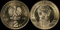 Pologne. 2 Zloty. 2013 (Pièce KM#Y.873 Neuf) Prince Jozef Poniatowski