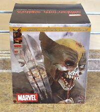 "*2007 Diamond Select Toys Marvel Milestones Zombie Wolverine 9"" Statue New #1313"