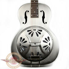 Gretsch G9231 Bobtail Steel Square Neck Resonator Acoustic Electric Demo