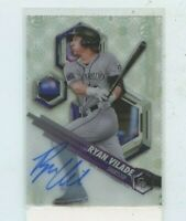 RYAN VILADE 2018 Bowman High Tek Autograph Auto Rookie card Colorado Rockies