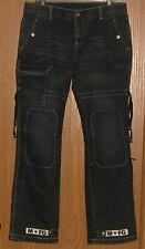 Mens Rare Vintage Marithe Francois Girbaud Cargo Snap Pocket Jeans 34x34 ! Wow