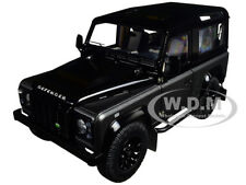 Box Dent Land Rover Defender 90 Autobiography Grey/Black 1/18 Kyosho 08901 Cgr