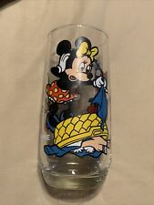 Minnie Mouse with Kids Walt Disney Pepsi Drinking Glass Cup Little Tiny Crack