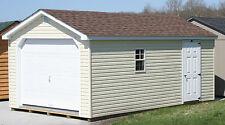 AMISH BUILT 12x20 A-FRAME VINYL GARAGE