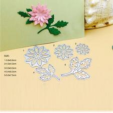 Flower Leaves Metal Cutting Dies Stencil Card Paper Embossing Scrapbooking Craft