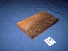Mooreiche subfossil Schmuckholz für Holzschmuck feine Holzarbeiten   Nr. 211
