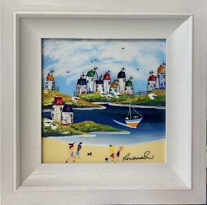 Rozanne Bell - Harbour 10X10 (Original Framed)