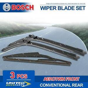 Bosch Wiper Blade Set for Mercedes Benz GL-Class M-Class 164 166 R-Class 251