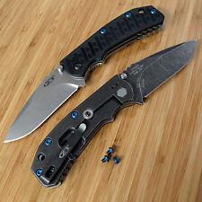 Zero Tolerance ZT0550 550 560 561 ZT Knife 3PC Titanium Torx Body Screw Set BLUE