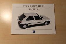 02192) Peugeot 306 XN - XNd - Prospekt 07/1994