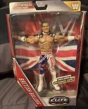 Wwe Mattel Elite Series 39 Flashback British Bulldog Figure Davey Boy Smith New