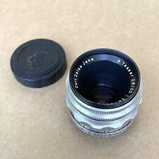 Carl Zeiss Jena 50mm 1:2.8 Lens - EXAKTA Mount - VINTAGE