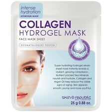 Skin Republic 25g Collagen Hydrogel Sheet Face Mask - Hydrating Radiant Glowing